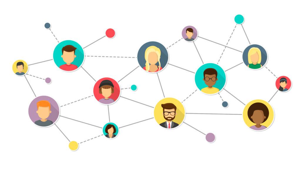 Netwerk van mensen