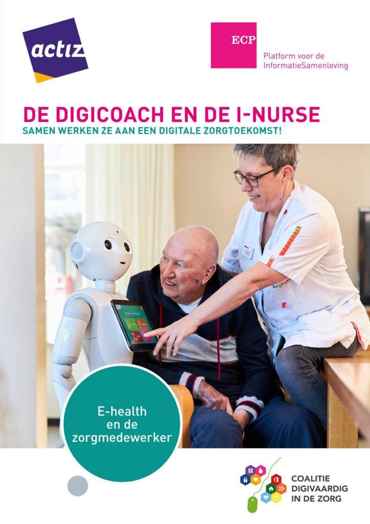 Brochure de digicoach en de I-nurse