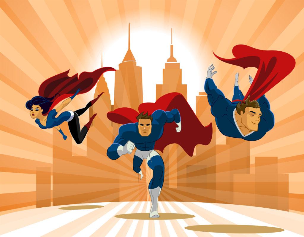 3 superhelden