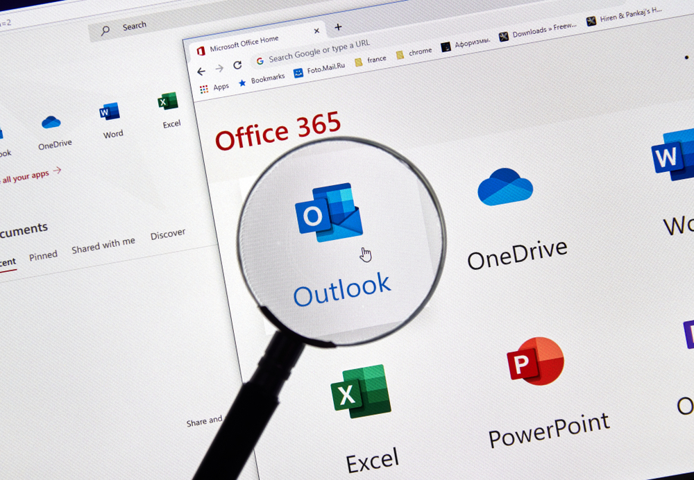 Symbool van Outlook in Office 365